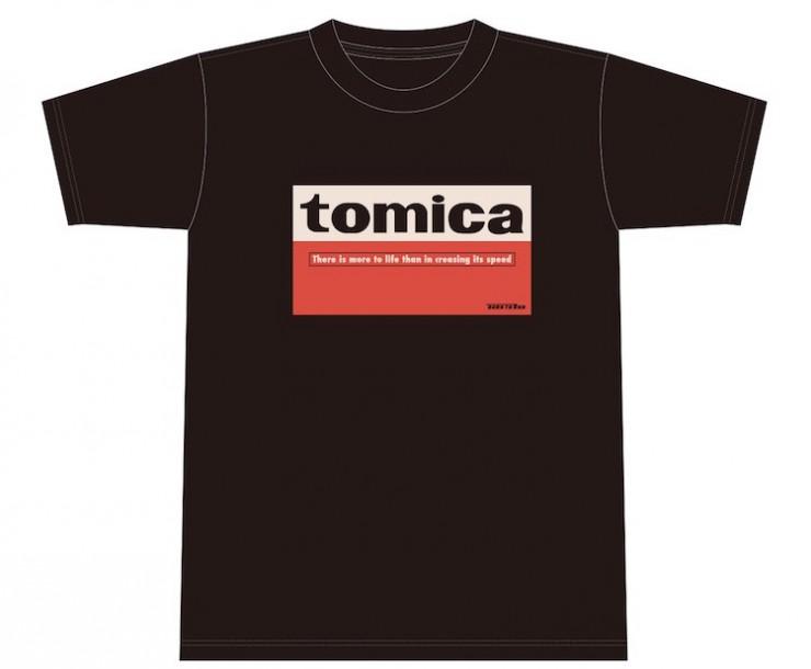 「tomica」 Right-on コラボTシャツ(4種各2,500円/税抜)