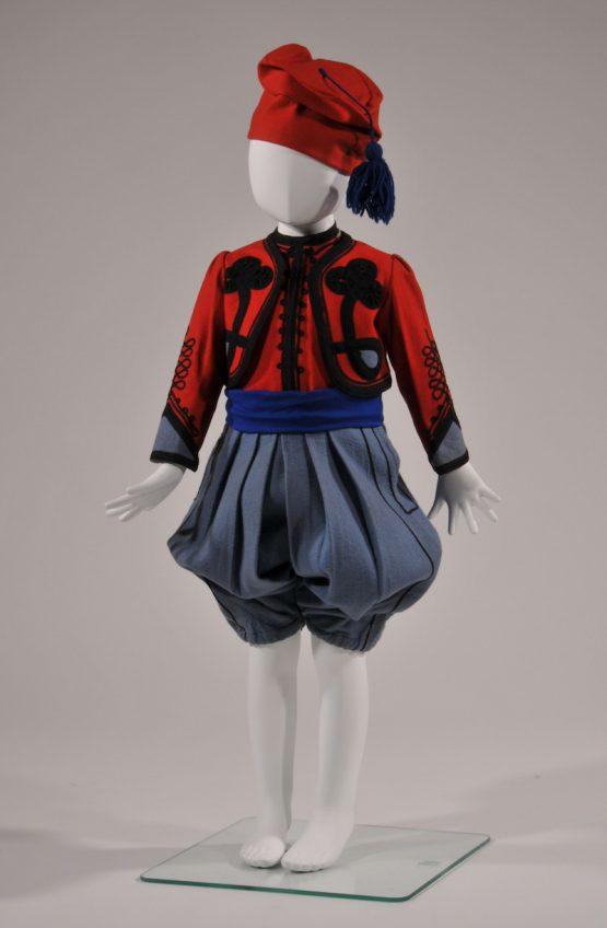 男児服(トルコ風) 1900年頃 フランス製 ポール・アレキサンダー氏蔵