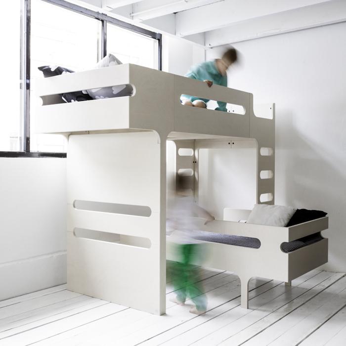 オランダ発・シンプルモダンなデザインの二段ベッド Rafa Kids Cocomag