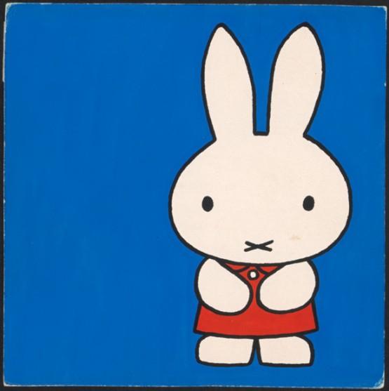 『ちいさなうさこちゃん』(第2版、1963年)原画