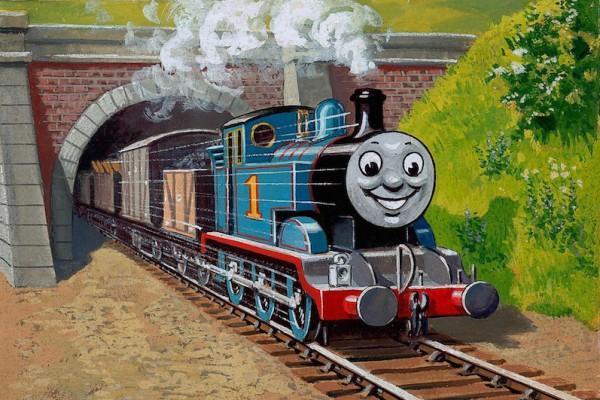 レジナルド・ダルビー「トーマスと貨車」1946年 ©2015 Gullane(Thomas)Limited.