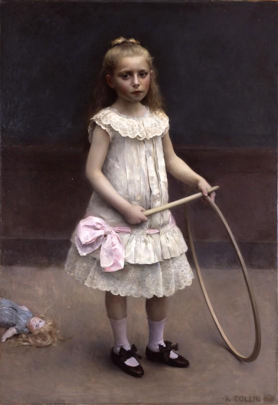 ラファエル・コラン 《エリーズ嬢の肖像》 1885年 島根県立美術館蔵