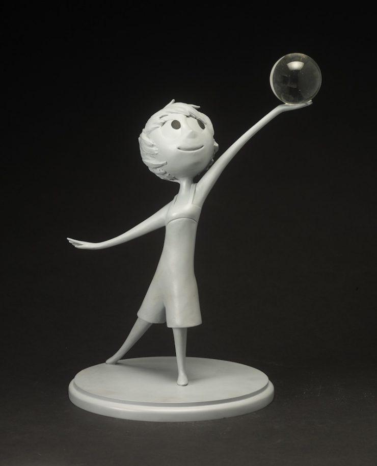 ジェローム・ランフト《ヨロコビ》『インサイド・ヘッド』(2015 年)ウレタン樹脂鋳造 ©Disney/Pixar