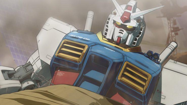 アニメーション「機動戦士ガンダム THE ORIGIN PV『GUNDAM RISING』」場面写真 ©創通・サンライズ