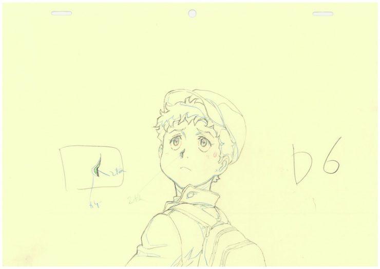 アニメーション「機動戦士ガンダム THE ORIGIN」原画 ©創通・サンライズ