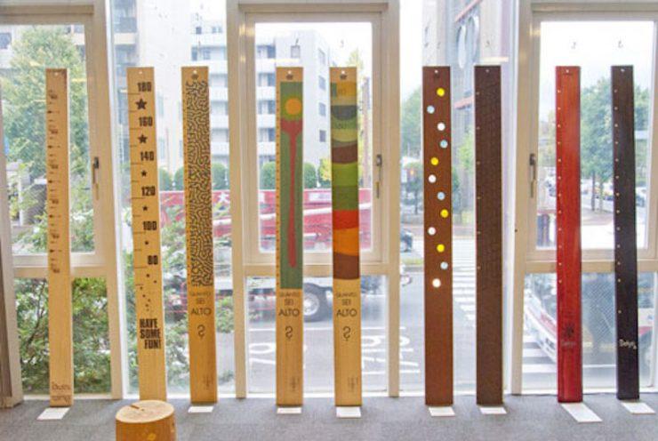 引越しできる柱のキズ〜me-moriアート展